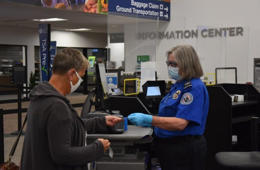 TSA checkpoint at Capital Region International Airport gets new credential authentication technology unit